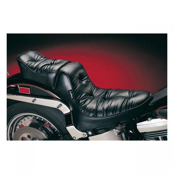 """LEPERA Seat - """"LePera, Regal Plush 2-up seat"""" - 84-99 Softail with up to 150mm rear tire (NU)"""