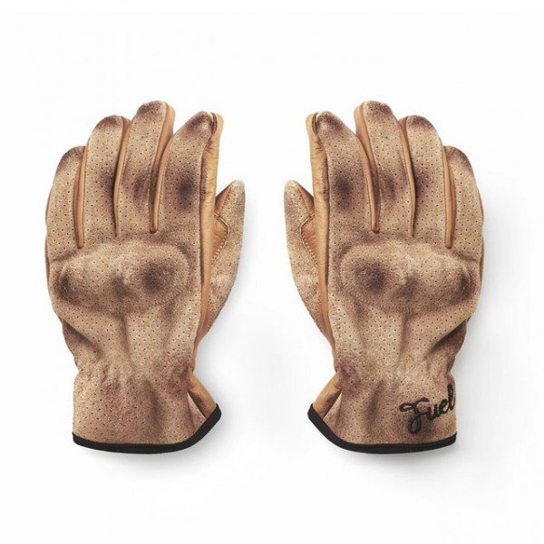 FUEL Gloves Flat in Brown