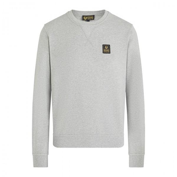 BELSTAFF Sweatshirt Long Way Up Crew Neck grau