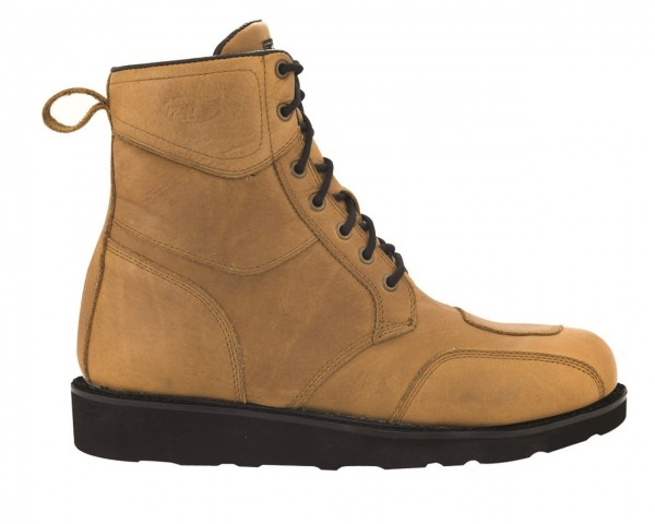 """ROLAND SANDS Motorcycle Boots - """"Mojave"""" - waterproof whiskey"""