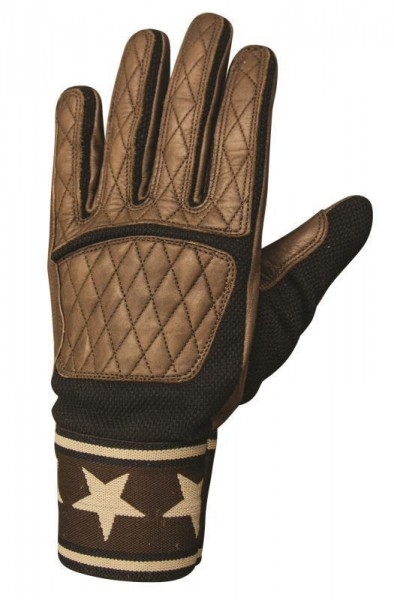 """ROLAND SANDS Gloves - """"Peristyle"""" - tobacco"""
