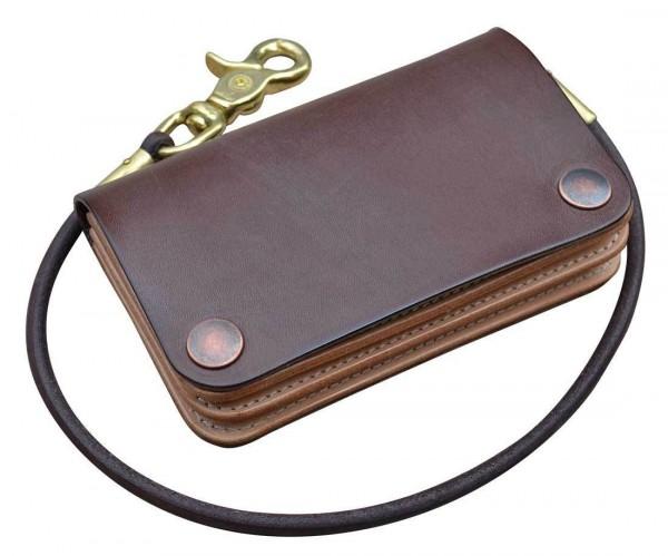 Timeless Leather Vintage Wallet brown