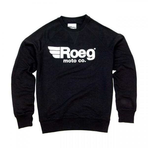 ROEG Sweatshirt Shawn in schwarz