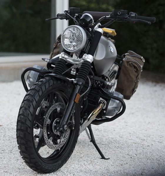 """UNITGARAGE - """"Engine Protection Crash Bars nineT"""" for BMW - black"""