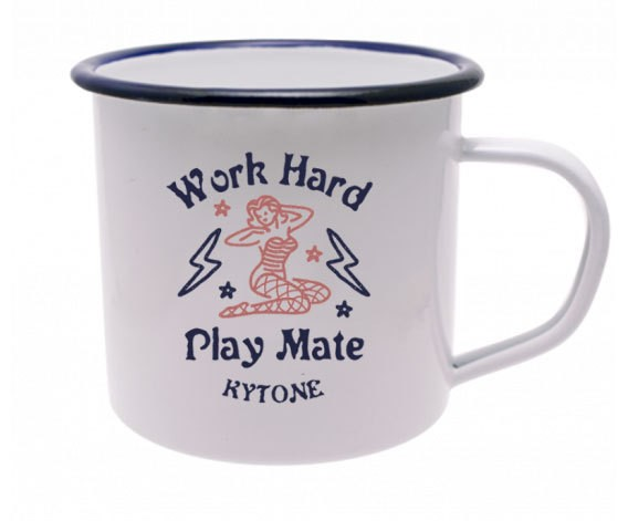 "KYTONE Mug - ""Play Mate"" - white"
