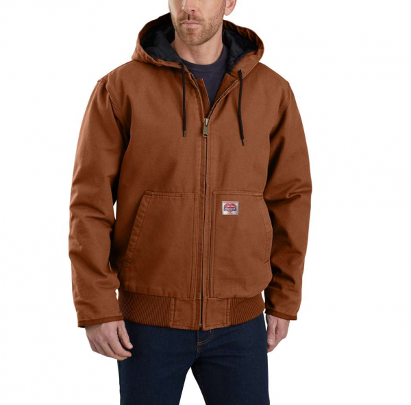 "CARHARTT Jacke - ""Heritage Duck Active"" - red duck"