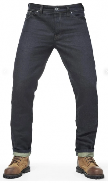FUEL BESPOKE Greasy Denim Pants