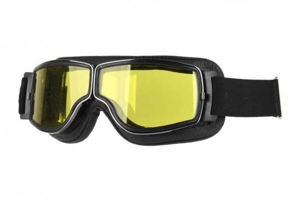 AVIATOR T2 schwarz gunmetal gelb Motorradbrille
