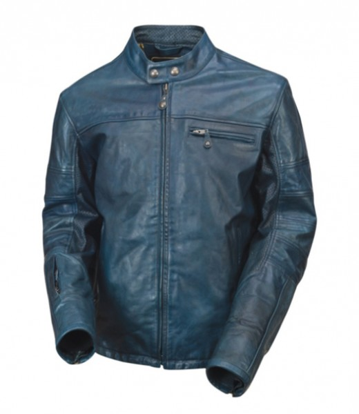 "ROLAND SANDS Jacket - ""Ronin Steel"" - steel blue"