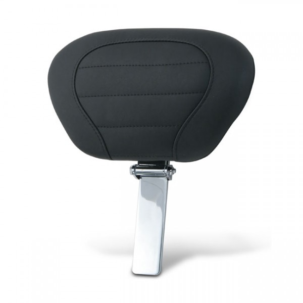 """MUSTANG Seat - """"Mustang DeLuxe driver backrest pad & post"""" - 08-20 Touring; 09-20 Tri-Glide"""