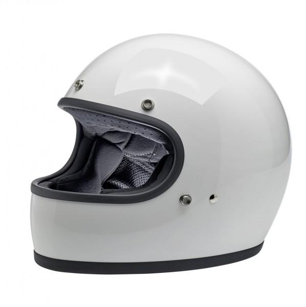 Biltwell Helm Gringo ECE DOT in Gloss White