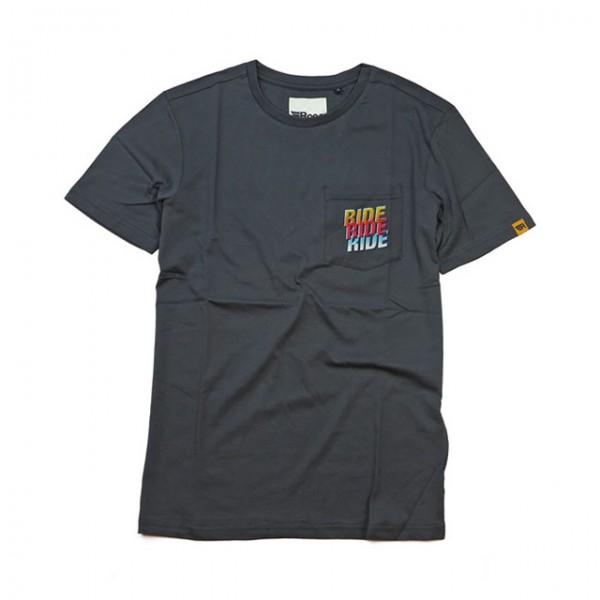 ROEG T-Shirt Ride2 Tee grey