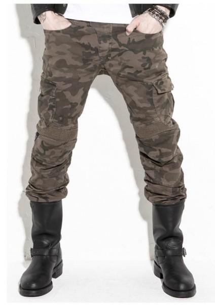 uglyBROS - Motorpool Camo - Herren Motorradjeans Camouflage