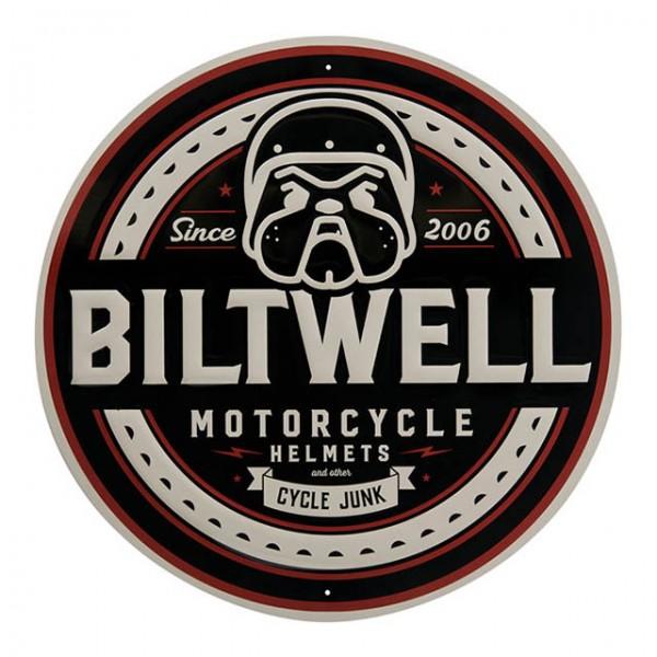 BILTWELL Blechschild Bulldog Shop Sign