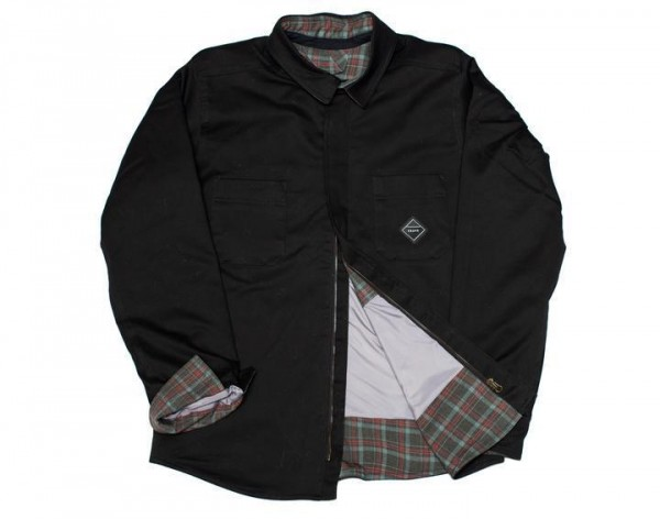 "CRAVE FOR RIDE Kevlar Shirt - ""Montana"" - black"
