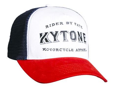 "KYTONE Cap - ""Free-Cut"" - rot, weiß & blau"