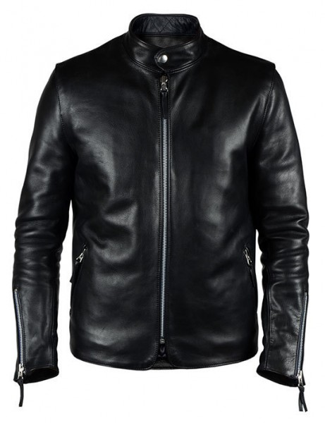 "EL SOLITARIO - ""Kraken Leather Jacket"" - schwarz"