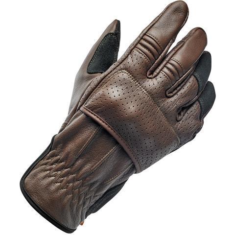 "BILTWELL Handschuhe - ""Borrego Chocolate/Black CE"" - braun & schwarz"