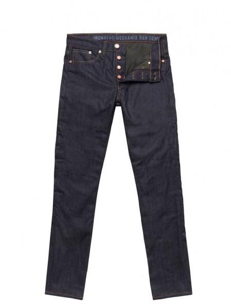 "JOHN DOE Jeans - ""Ironhead Mechanix Raw"" - blau"