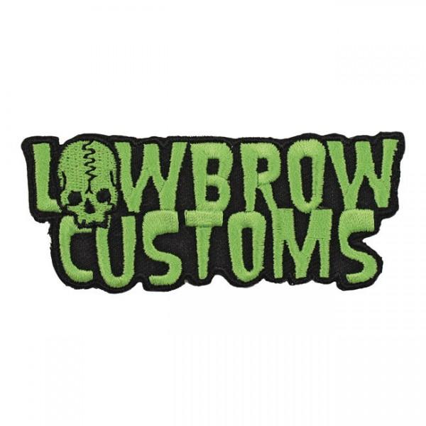"""LOWBROW CUSTOMS Aufnäher - """"Lowbrow"""""""