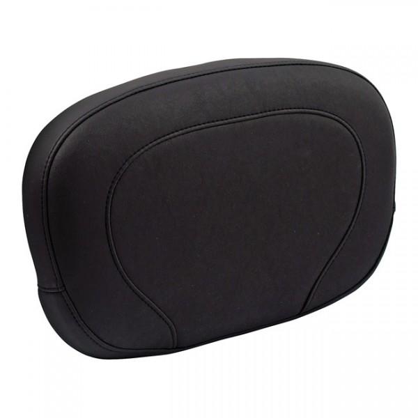 """MUSTANG Seat - """"Mustang, sissy bar back pad. Black"""" - 97-20 FLHR, FLHT, FLTR; 06-20 FLHX"""