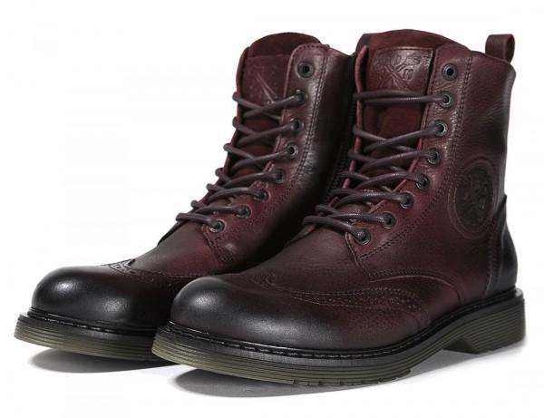 JOHN DOE Boots Sixty Budapest bordeaux