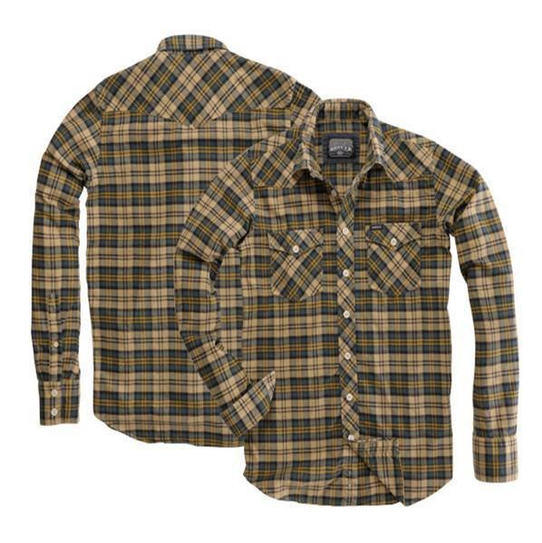 "ROKKER Men's Shirt - ""Louisiana Green/Yellow Vintage"" - checkered"