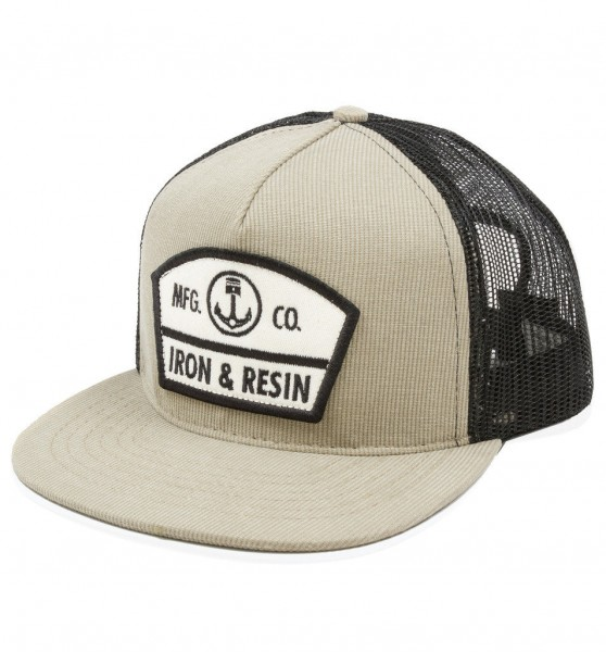 "IRON & RESIN Cap - ""Randall"" - khaki"