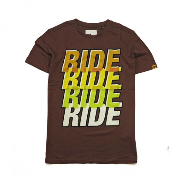 ROEG T-Shirt Ride Four Tee brown
