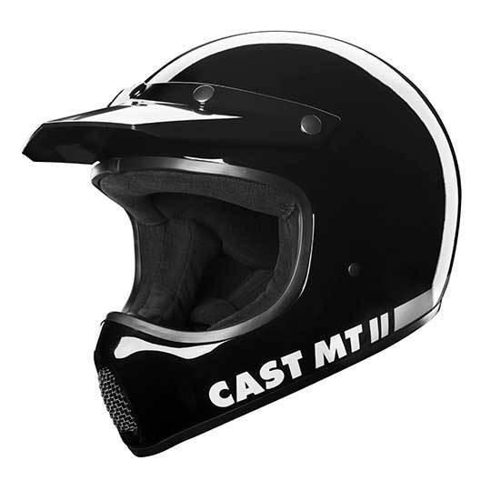CAST MT II Black Motorradhelm