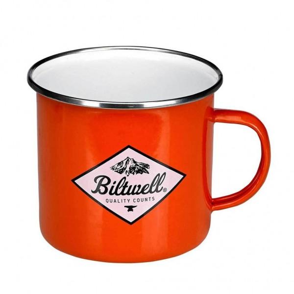 """BILTWELL Mug - """"Camp Mug CRS"""" - orange"""