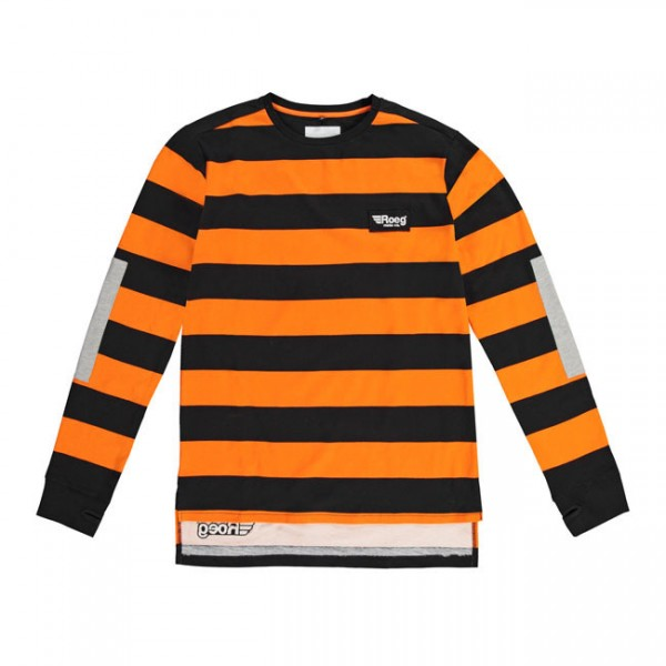 "ROEG Jersey - ""Jeff"" - schwarz & orange"