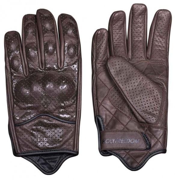 "HOLY FREEDOM Handschuhe - ""Bullit"" - braun"