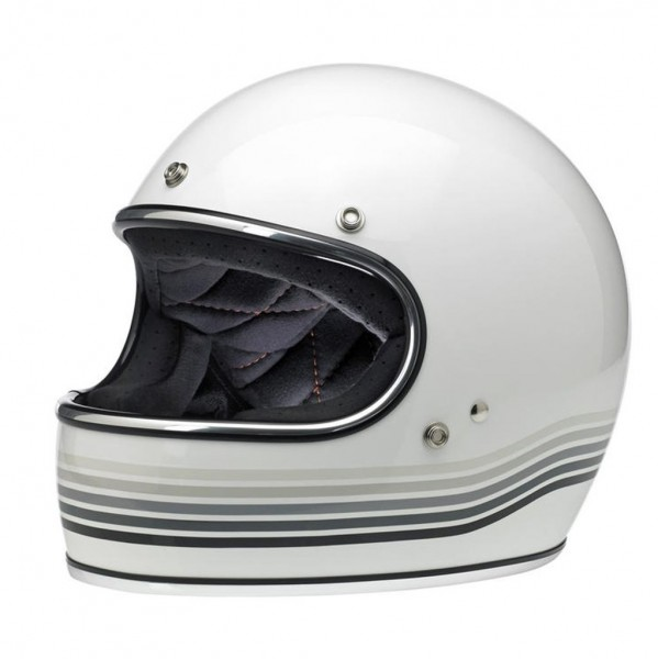 "BILTWELL Gringo - ""Spectrum White"" - DOT"