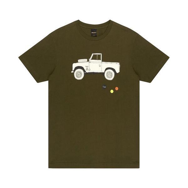 DEUS EX MACHINA T-Shirt Carby Landie Tee Forest Green