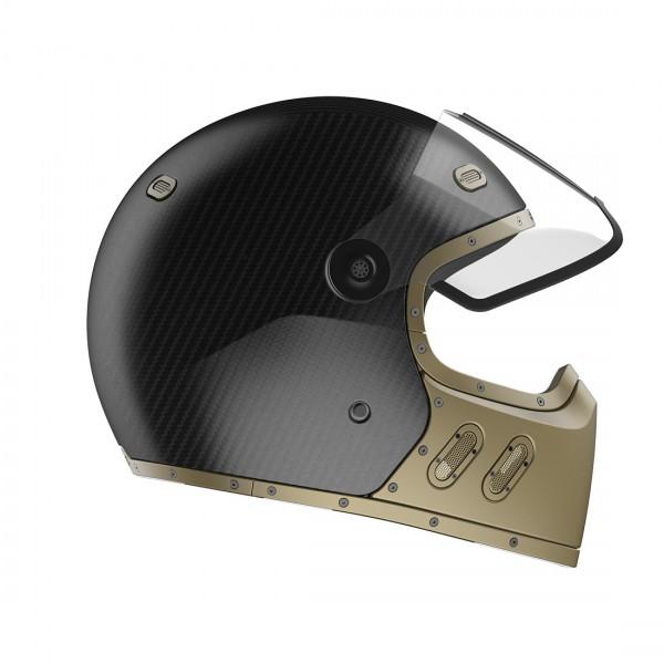 QWART Full Face Helmet Phoenix Standard Matt Carbon Matt Magnesium
