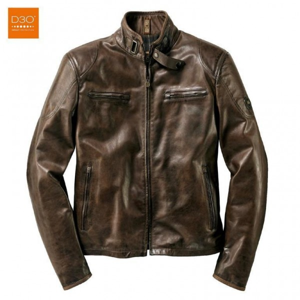 "MATCHLESS PM Jacket - ""Osborne Blouson"" - antique brown"