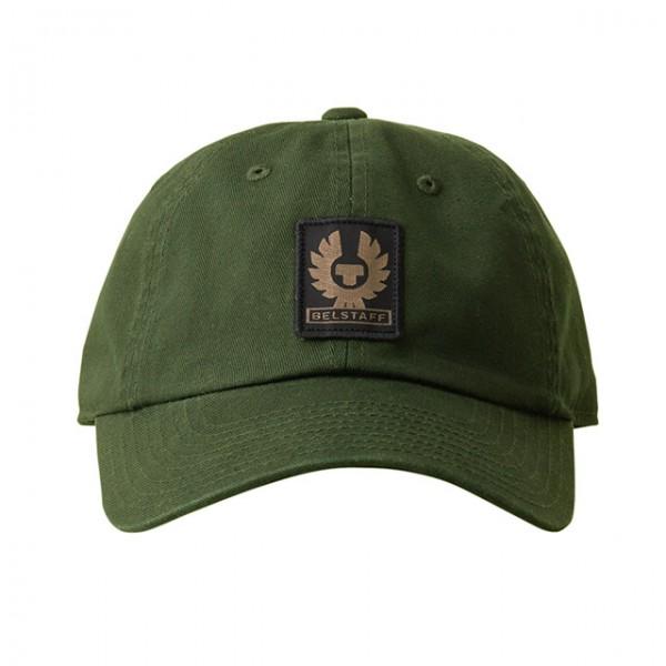 BELSTAFF Hat Phoenix Logo in Rifle Green