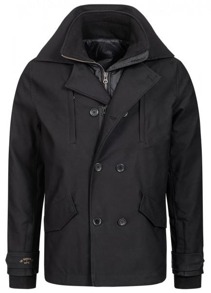 ROKKER Black Jack Coat for Motorcycle