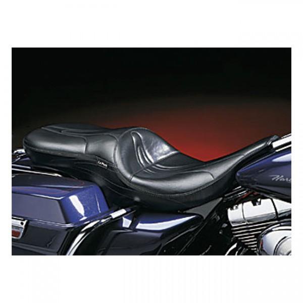 """LEPERA Seat - """"LePera, Sorrento 2-up seat. Gel"""" - 97-01 FLT/Touring (excl. FLHR) (NU)"""