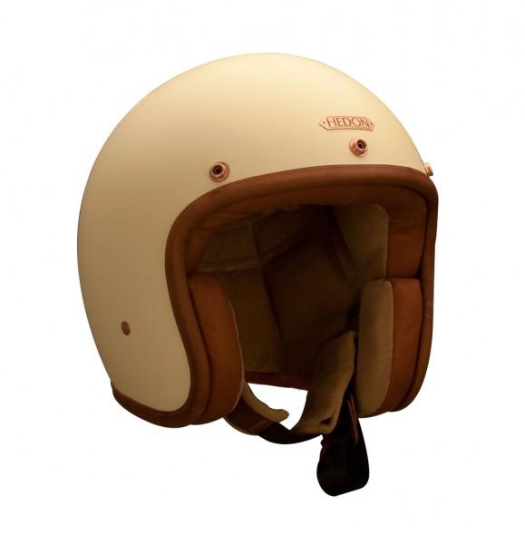 HEDON Hedonist Creme Open Face Helmet