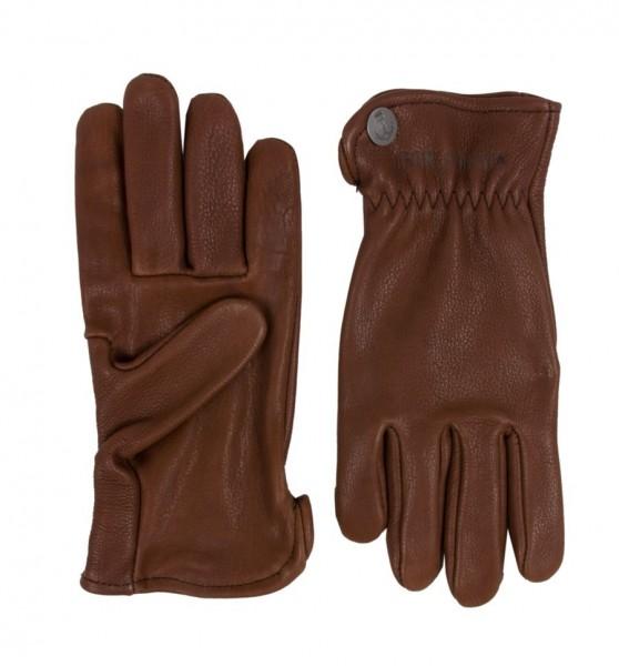Iron & Resin Gloves Bobber dark brown