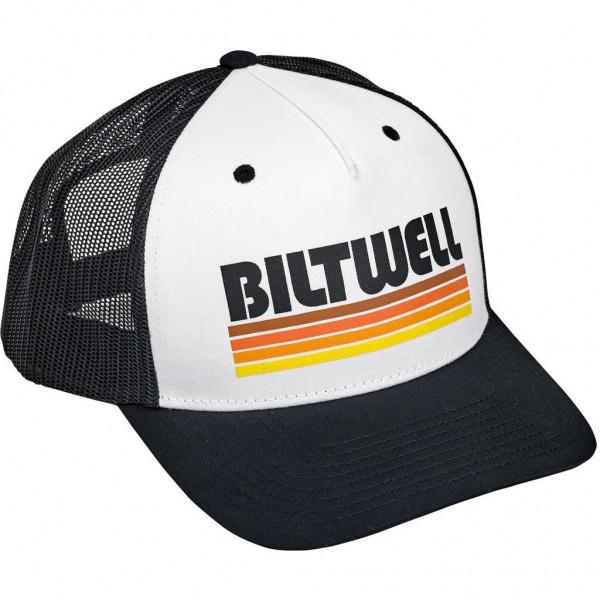 "BILTWELL Hat - ""Surf"" - black & white"