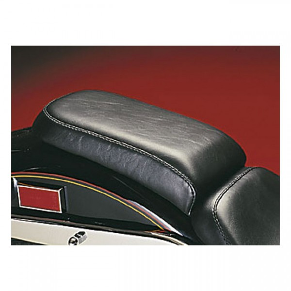 """LEPERA Sitz - """"Bare Bones Passenger seat. Basket Weave"""" - 00-07 Softail with up to 150mm tire, frame"""
