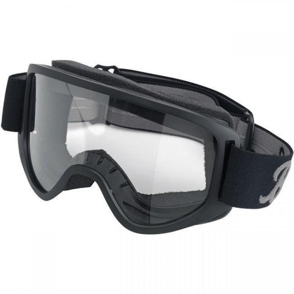 BILTWELL Cross Brille Moto 2.0 Goggle Script Black
