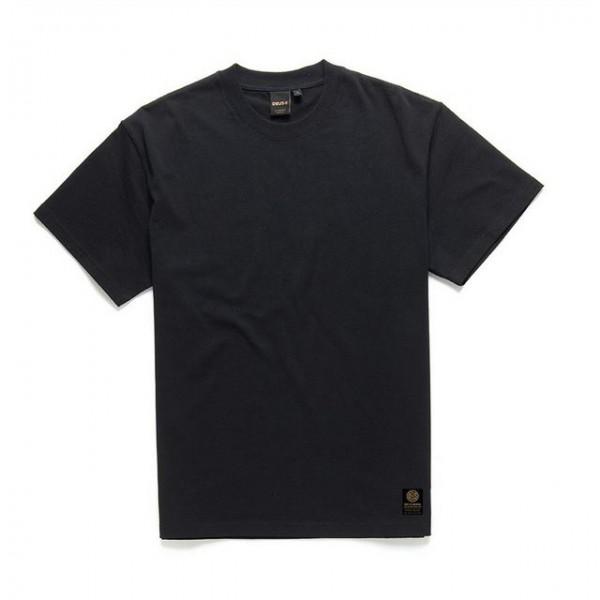 DEUS EX MACHINA T-Shirt Plain Military Tee in Schwarz