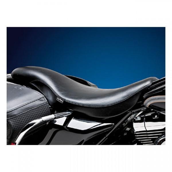 """LEPERA Seat - """"LePera, King Cobra 2-up seat. Smooth"""" - 02-07 FLHR (NU)"""