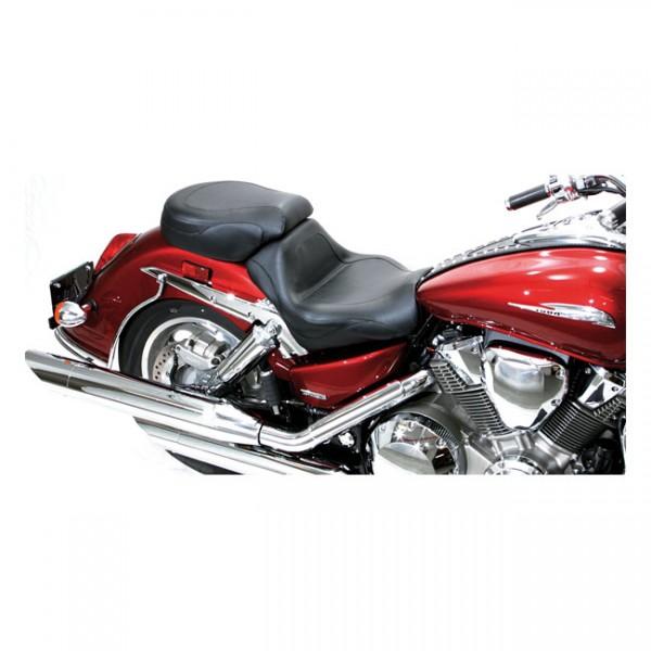 "MUSTANG Sitz - ""Mustang 2-p vintage sport touring seat plain black"" - Honda: 03-09 VTX1300 Retro; 03"