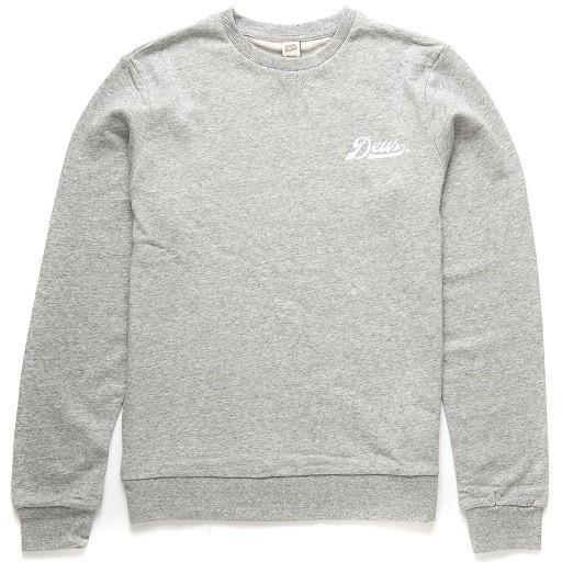 "DEUS EX MACHINA Sweatshirt - ""Diamond Logo Crew"" - grau"