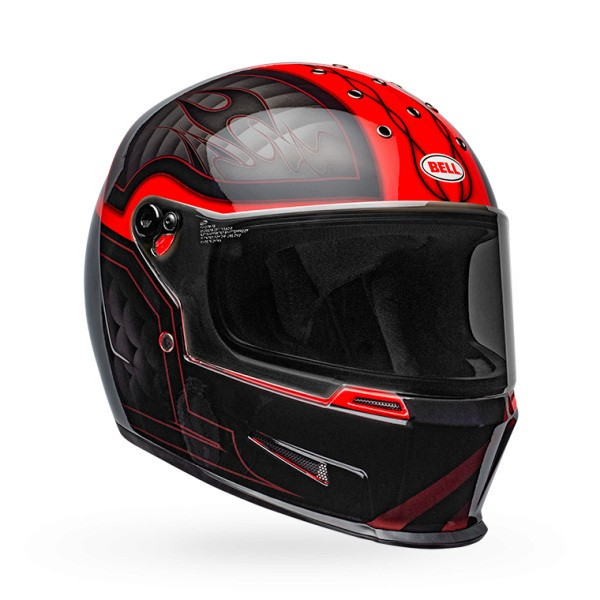 Bell Eliminator in Black and Red